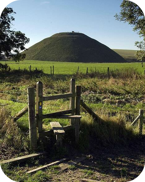 Rounded_silbury hill